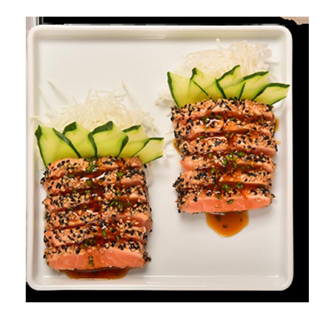 Sashimi Salmão Maçaricado (NOVO!)